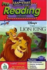 LeapPad Leap Start Learning System Game & Book Pre-Reading Storybook Lion King