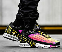 New NIKE Air Max Plus 3 TN Men's Athletic Sneakers black violet all sizes