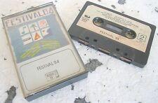 FESTIVAL '84 (1984) MC TAPE ORIGINALE CGD 30 COM 20398 USATA RARISSIMA!!!!!!!!