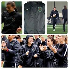 NIKE PORTLAND THORNS NWSL PLAYER ISSUED TRAINING JACKET MEDIUM