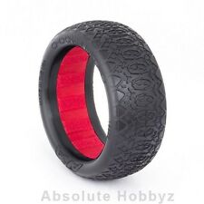 AKA Racing EVO Chain Link Front 2WD Buggy Tires (Clay) (2) - AKA13222CR