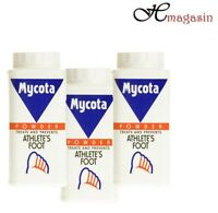 3 x MYCOTA ATHLETE'S FOOT POWDER 70g TREATS AND PREVENTS ATHLETE'S FOOT