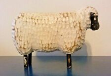 "Vintage Original James ""Jim"" Foote Primitive Sheep Carving Signed Decoy Folk Art"