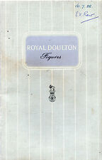 TRADE BROCHURE PROMOTING ROYAL DOULTON FIGURES COLLECTION -  PB No.4 (c.1958)