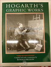Ronald Paulson, HOGARTH'S GRAPHIC WORKS Catalogo Ragionato 3a edizione 1989