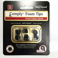 comply tx 100 3 paires d'embouts intra-auriculaires earphone upgrade  neuf