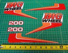 6pc Yamaha 1986 BW200 BIG WHEEL decals stickers graphics kit