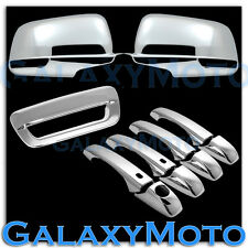 14-15 JEEP GRAND CHEROKEE Chrome Full Mirror+ 4 Door Handle+Smart+Tailgate Cover
