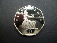 2000 PROOF 50P COIN HOUSED IN A NEW LIGHTHOUSE CAPSULE THE DEFINITIVE VERSION.