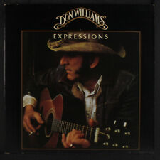 DON WILLIAMS: Expressions LP (gatefold cover, creases) Country