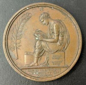 Empire Napoléon Ier Médaille Organisation de l'instruction publique AN V (1802)