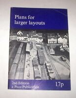 Modelling Modellismo Ferroviario - Plans for larger layouts - ed. 1971