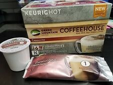 Cappuccino Pod and Froth Packet - 24 K Cups Green Mountain -