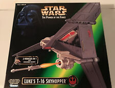 SW POTF Luke's T-16 Skyhopper (New in Mint Box) **Brand New and Unopened**