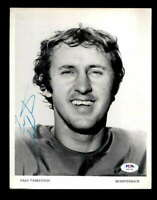 Fran Tarkenton PSA DNA Coa Hand Signed 8x10 Autograph Photo