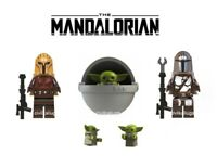 NEW Baby Yoda The Mandalorian Star Wars Minifigure Mini Fig Fits Lego And Block