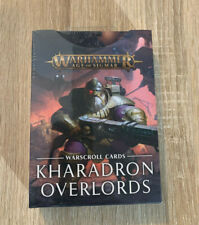 Kharadron Overlords Warscroll Cards Warhammer Age of Sigmar Warcry Dwarf Cities