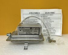 Columbus Electric RH3A9 Air Flow Switch, New in Box + Instructions & Accy's