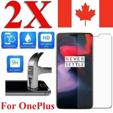 Premium Tempered Glass Screen Protector For Oneplus 6 5 5T X 3T 3 2 1 (2 PACK)