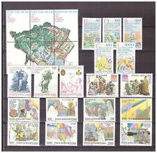 s15554) VATICANO MNH** 1986, Complete Year set 24v