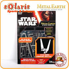 Fascinations Metal Earth Licensed Star Wars KYRO REN'S COMMAND SHUTTLE 3D Model