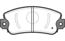 4x OPEN PARTS Pastillas Freno Delanteras Para FIAT UNO SEAT MARBELLA BPA0372.00