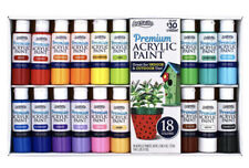 Premium Acrylic Paints By ArtSkills Creative Expressions 18 Pack, New
