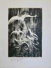 Jean BREANT- Ltihographie originale signée - Cathédrale Rouen