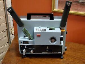 ELMO ST-1200 Super 8mm Sound movie projector WORKS