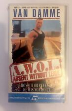 A.W.O.L Absent Without Leave BIG BOX VHS Video Retro, Supplied by Gaming Squad