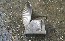 ANTIQUE BRASS GRAMMAR PHONE