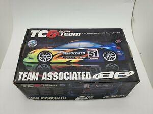 Team Associated TC6 Factory Team Bulk Kit Parts Including Chassis OZRC JC