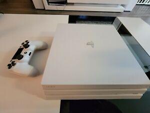 Sony PS4 Pro 1TB, 4K Console - *Mint* glacier white