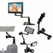 "11 ""Pro Articulating Magic Arm Kamera Monitor DSLR LCD Licht Hot Schuhhalter Neu"