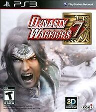 Dynasty Warriors 7  (Sony Playstation 3, 2011) BRAND NEW / Region Free