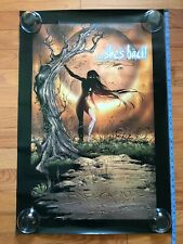 SIGNED Randy Queen 1998 Darkchylde The Legacy 24x36 Poster