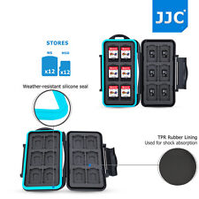 JJC Memory Card Case Storage for Nintendo Switch Game Card*12+ Micro SD Card* 12