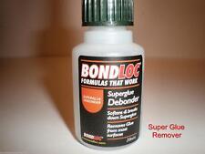 SUPER GLUE REMOVER DEBONDER CLEANER LARGE 20ML BOTTLE GOOD QUALITY