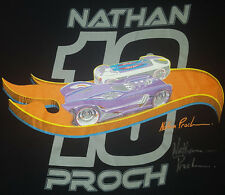 Hot Wheels Large T Shirt 19th Collectors Convention Nathan Proch Signed New