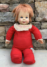 "Vintage Mattel 1965 Talking Baby Secret Doll 18"" Works - Whispers & Mouth Moves"