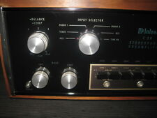 Vintage McIntosh C-28 Pre Amp With Walnut Cabinet Serial # AK2054 AMERICAN MADE