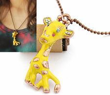 N68 BETSEY JOHNSON Cute LION KING Whole Giraffe Necklace US