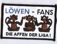 """Anti 1860 Aufnäher """"Die Affen der Liga""""  Kutte Ultra"""