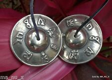 Handmade Authentic Mantra Prayer Tingsha Cymbals - Sound Healing/ Meditation