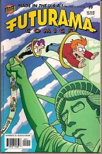 "FUTURAMA #9 BONGO COMICS 2002 ""FREAKY FRY-DAY!"" PROF. FARNSWORTH DREAM HOUSE NM"