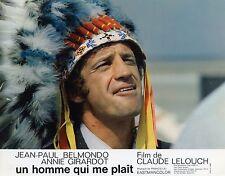 JEAN-PAUL BELMONDO UN HOMME QUI ME PLAIT 1969  VINTAGE LOBBY CARD N°2
