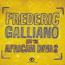 ~BACK ART MISSING~ Frederic Galliano & African Diva CD Frederic Galliano & Afric