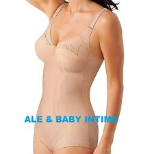 Playtex 2859 Kzg Korselett D-cup Body Modellante Donna Beige 7d IT (r7s)