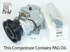 1994-2001 Toyota Camry 4 Cyl 2.2L  A/C Compressor Kit - Remanufactured