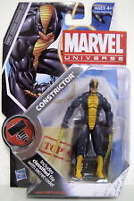 "CONSTRICTOR Marvel Universe Fans Choice 4"" inch Action Figure #25 Hasbro 2010"